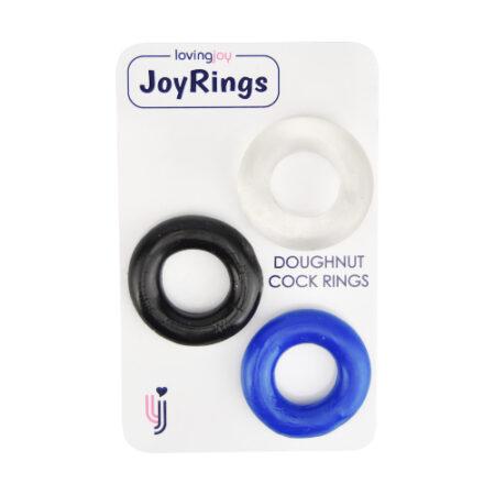 JoyRings Doughnut Cock Rings (3 Pack)