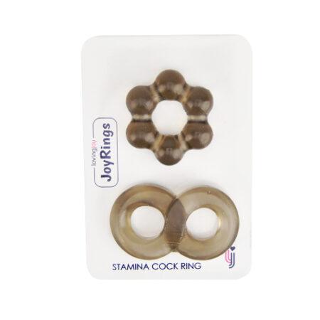 JoyRings Stamina Cock Ring Set (2 Pack)