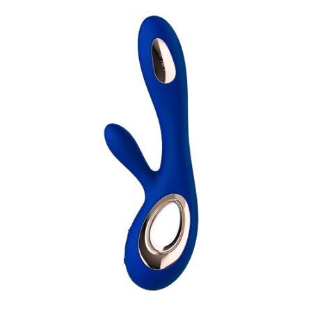 Lelo Soraya Wave Dual Action Vibrator Midnight Blue 1