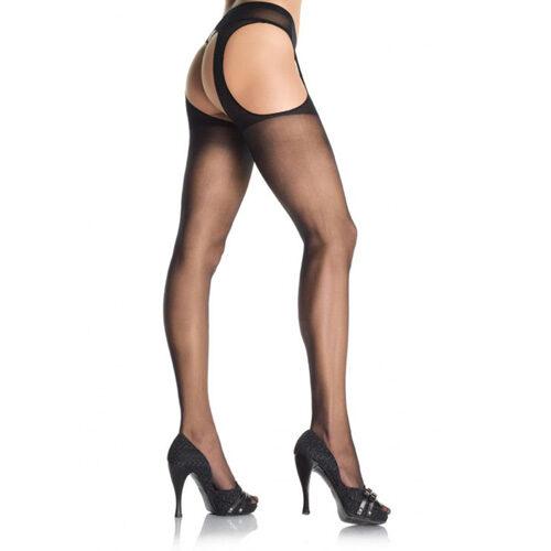 Leg Avenue Sheer Suspender Pantyhose 1