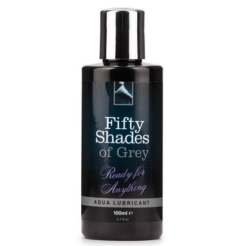 Fifty Shades of Grey Ready For Anything Aqua Lubricant 100ml 1