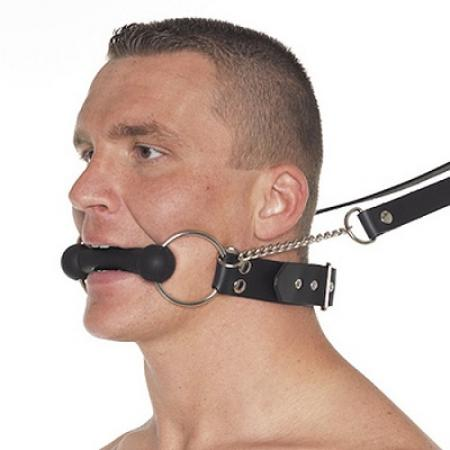 Leather Horse Bit Gag And Reins 1